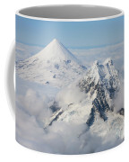 Aerial View Of Shishaldin Volcano Coffee Mug
