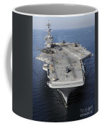 Aircraft Carrier Uss Carl Vinson Coffee Mug