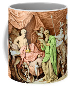 Alexander The Great And His Physician Coffee Mug
