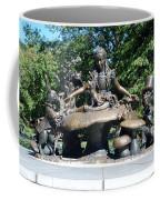 Alice In Wonderland In Central Park Coffee Mug