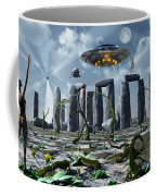 Alien Interdimensional Beings Recharge Coffee Mug