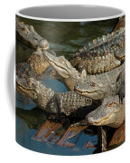 Alligator Pool Party Coffee Mug