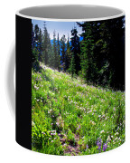Alpine Meadow Vii At Mount Rainier Coffee Mug