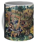 America: Shipbuilding, C1594 Coffee Mug