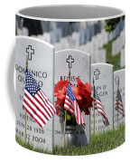 American Flags Placed In The Front Coffee Mug