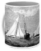 Americas Cup, 1887 Coffee Mug