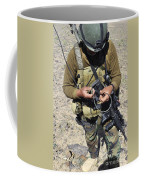 An Afghan National Army Soldier Coffee Mug