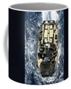 An Amphibious Assault Vehicle Navigates Coffee Mug