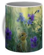 An Attwaters Prairie Chick Surrounded Coffee Mug