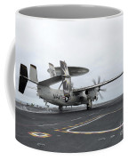 An E-2c Hawkeye Launches Off The Flight Coffee Mug