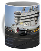 An Ea-6b Prowler Makes An Arrested Coffee Mug