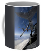 An F-15 Eagle Pulls Into Position Coffee Mug by HIGH-G Productions