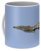 An F-4 Phantom In Flight Over Houston Coffee Mug