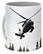 An Hh-60g Pave Hawk Helicopter Prepares Coffee Mug