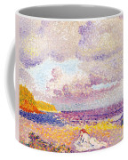 An Incoming Storm Coffee Mug by Henri-Edmond Cross