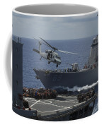 An Mh-60s Knighthawk Helicopter Coffee Mug