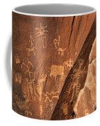 Ancient Indian Petroglyphs Coffee Mug