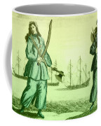 Anne Bonny And Mary Read, 18th Century Coffee Mug by Photo Researchers