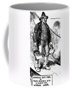 Anti-immigrant Cartoon Coffee Mug