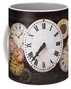 Antique Clocks Coffee Mug