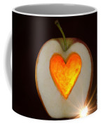 Apple With A Heart Coffee Mug