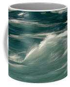 Aqua Blue Waves Coffee Mug