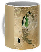 Aral Sea Coffee Mug by NASA / Science Source