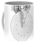 Aristotlelian And Christian Cosmologies Coffee Mug by Science Source