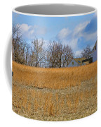 Artist In Field Coffee Mug by William Jobes