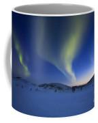Aurora Borealis Over Skittendalen Coffee Mug