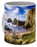 Ballintoy, County Antrim, Ireland Beach Coffee Mug