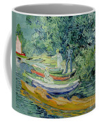 Bank Of The Oise At Auvers Coffee Mug