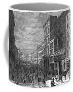 Bank Panic, 1873 Coffee Mug