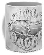 Baseball, 1895 Coffee Mug