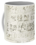 Baseball Cartoons, 1859 Coffee Mug