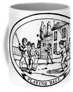 Baseball Game, 1820 Coffee Mug by Granger