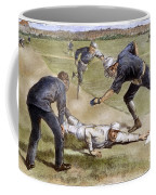 Baseball Game, 1885 Coffee Mug by Granger