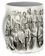 Baseball Teams, 1866 Coffee Mug