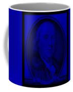 Ben Franklin In Blue Coffee Mug