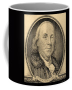 Ben Franklin In Sepia Coffee Mug