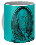 Ben Franklin In Turquois Coffee Mug