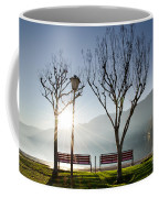 Bench And Trees Coffee Mug