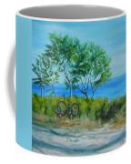 Bikes Waiting Coffee Mug