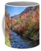 Blacksmith Fork River In The Fall - Utah Coffee Mug