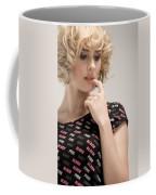 Blond Lady Coffee Mug