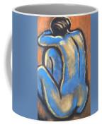 Blue Back Coffee Mug