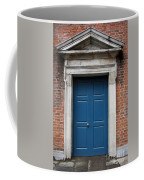 Blue Irish Door Coffee Mug
