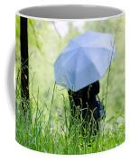Blue Umbrella Coffee Mug