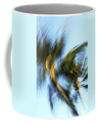 Blurred Palm Trees Coffee Mug