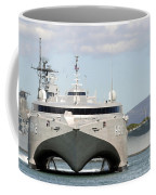 Bow On View Of The Us Navy Experimental Coffee Mug